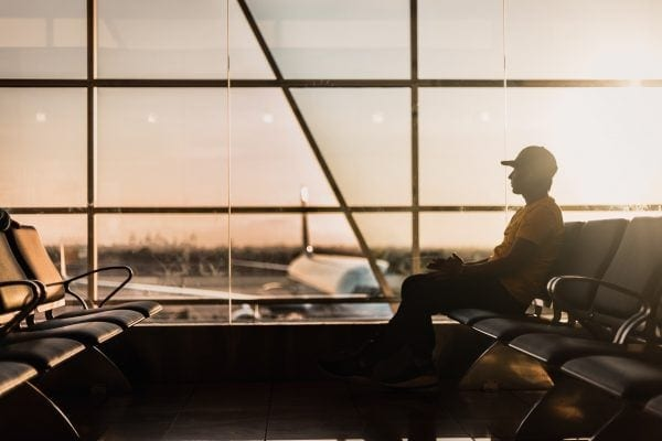 Airport, trade and beauty, a western revisited
