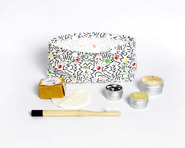 Travel responsibly with the zero waste toiletry bag