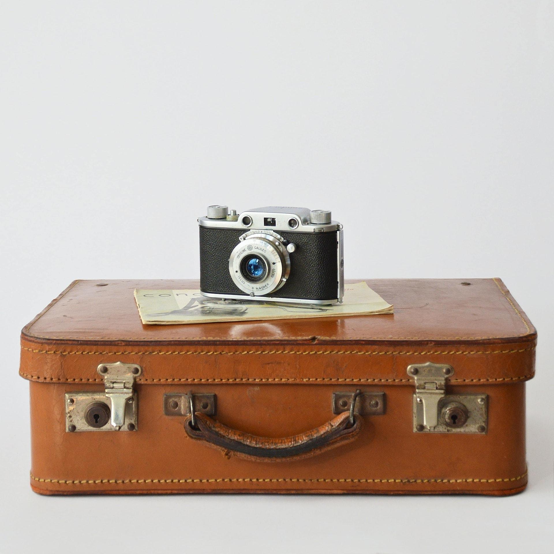 Photo Louer une valise cest possible Blooom trousses de toilette de voyage et soins d'hygiène