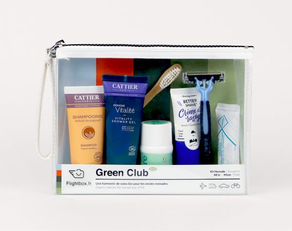 trousse de toilette green club