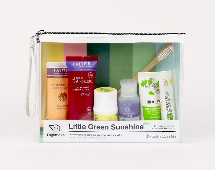 kits de voyage little green sunshine