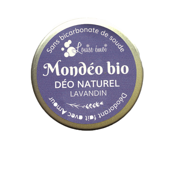 déodorant naturel, mondeo bio lavandin