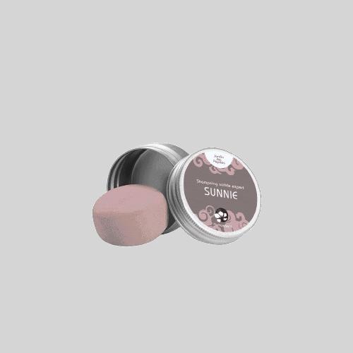 SUNNIE mini shamp boite ronde 2000x removebg preview Blooom trousses de toilette de voyage et soins d'hygiène