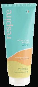 Gel creme apres soleil naturel Respire Tube de 200 ml 37 2 removebg preview Blooom trousses de toilette de voyage et soins d'hygiène